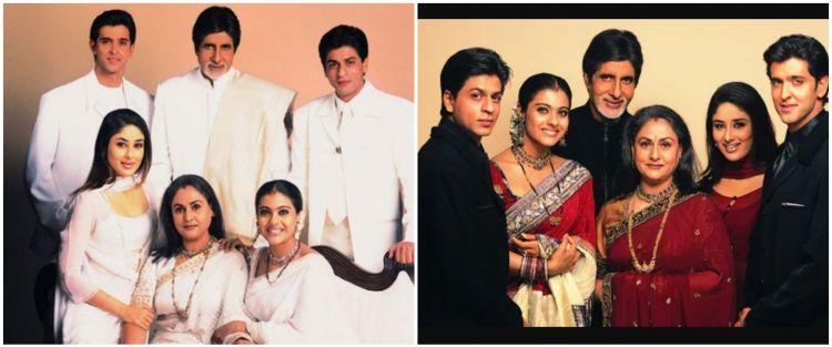 Potret masa kecil 6 pemain film Kabhi Kushi Khabi Gham, curi perhatian