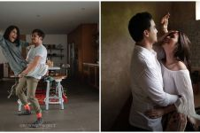 Pemotretan 10 pasangan seleb di dapur ini simpel tapi romantis