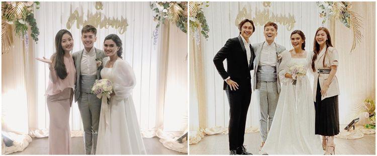 Gaya 9 seleb di nikahan Audi Marissa dan Anthony Xie, stylish