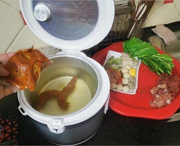 momen lucu simpan makanan © 2020 instagram.com