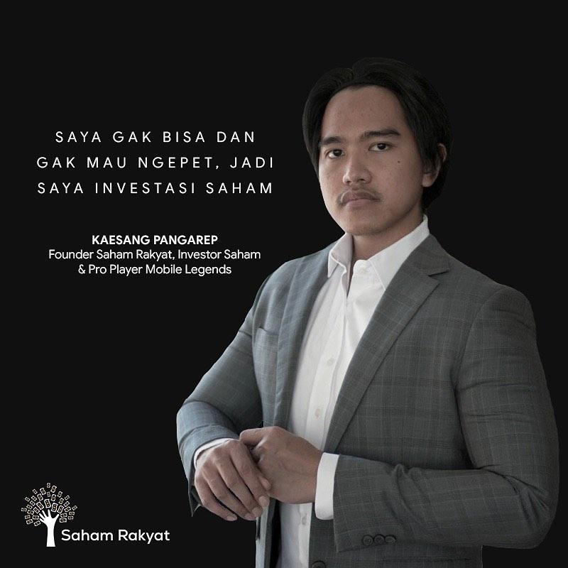Kaesang Pangarep potret terbaru  Instagram