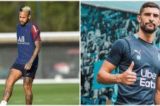 Berujung rusuh & 5 pemain diusir wasit, ini fakta PSG vs Marseille