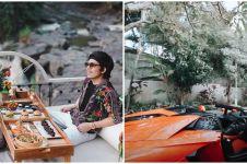 10 Momen Atta Halilintar dan Aurel di Bali, mobilnya curi perhatian