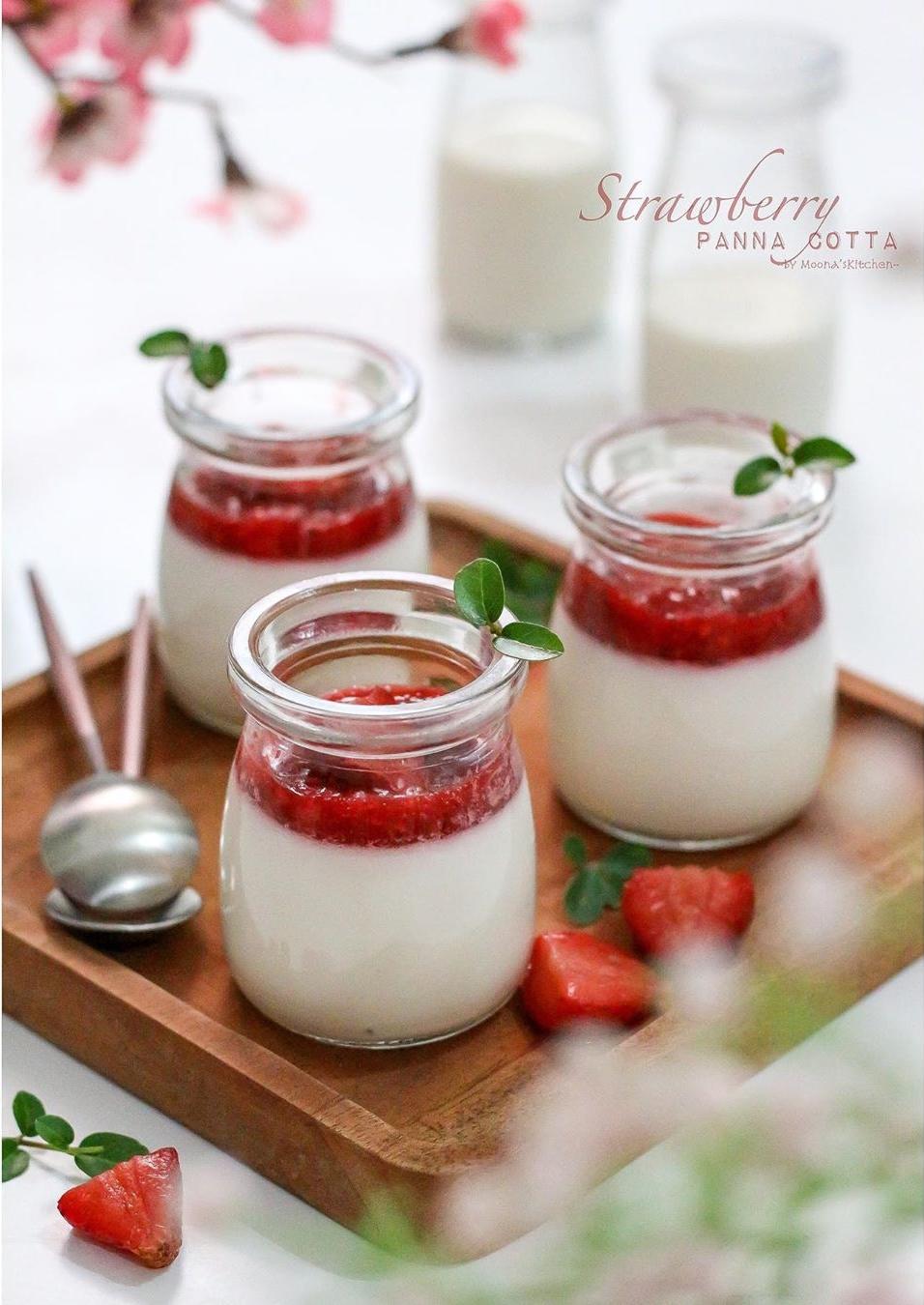 10 Resep panna cotta ala rumahan, dessert praktis dan ...