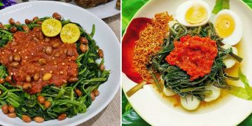 10 Resep plecing kangkung, enak, sehat, dan sederhana