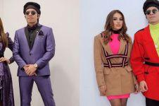 11 Potret Aurel Hermansyah dan Atta Halilintar kenakan pakaian senada