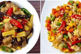 10 Resep tumis sayur campur, enak, praktis, dan bikin nagih