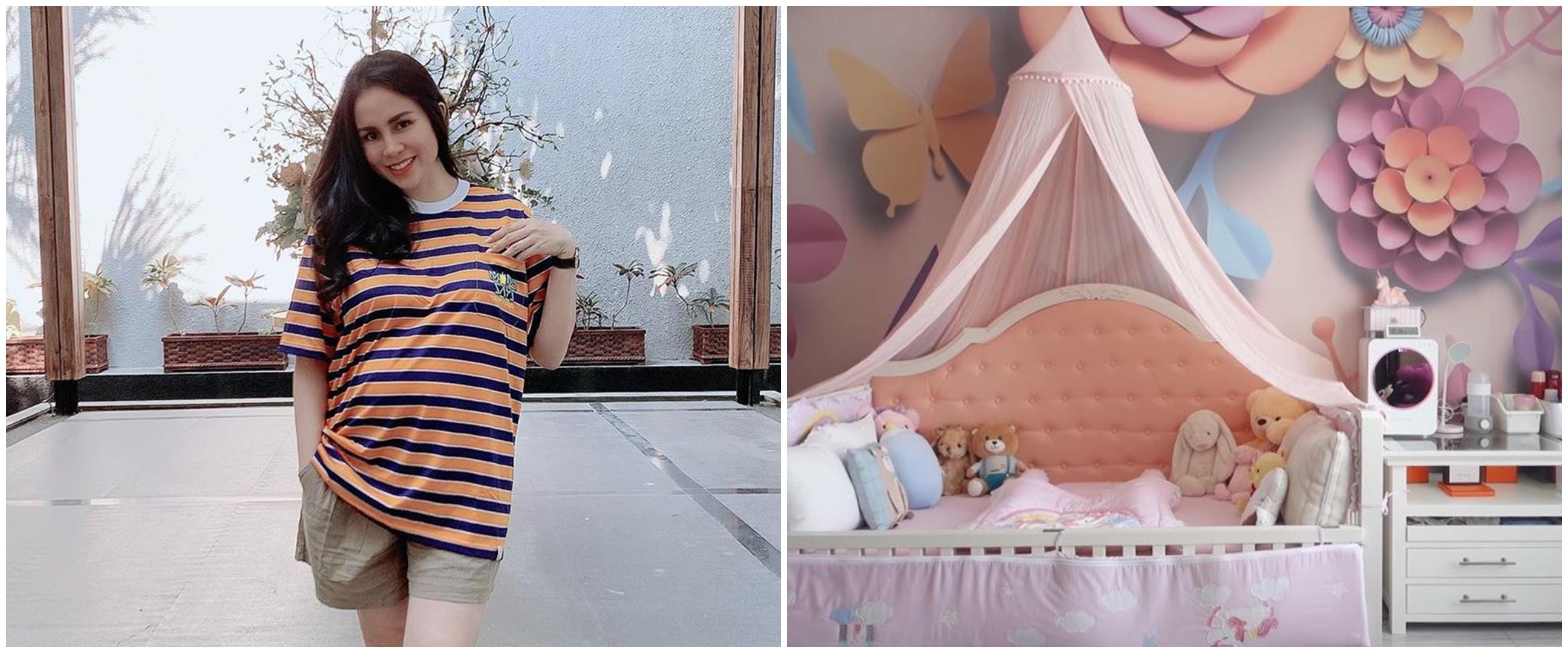 12 Potret kamar anak Momo Geisha, ada dapur hingga laundry sendiri