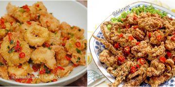 10 Resep masakan dengan bumbu cabai garam, sederhana dan mudah dibuat