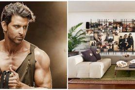 Intip ruang keluarga 8 seleb Bollywood, punya Hritik Roshan estetik