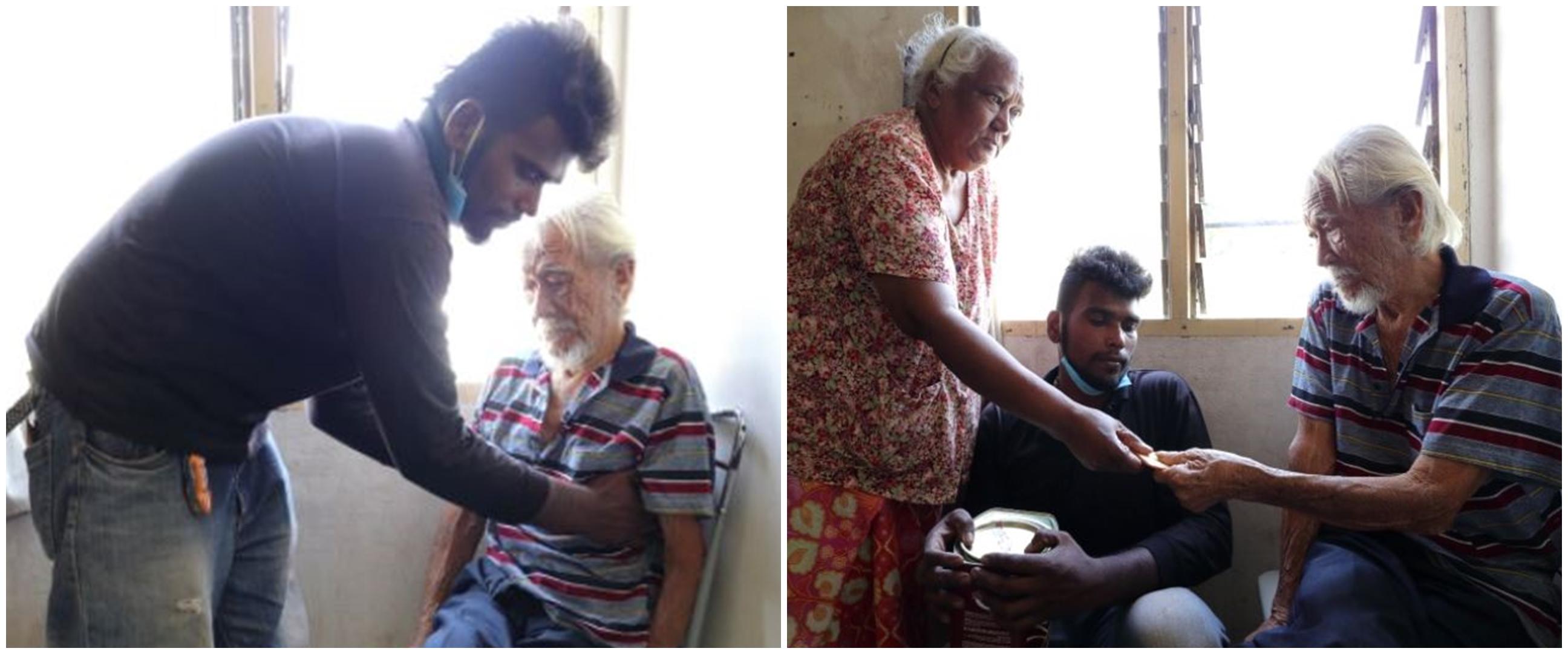 Kisah haru pemuda rawat nenek & tetangga berusia 87 tahun sekaligus
