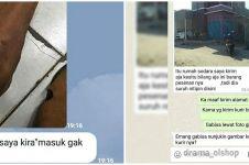 10 Chat pakai gambar dari pembeli, endingnya bikin tepuk jidat