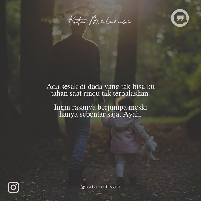 mutiara ayah meninggal instagram