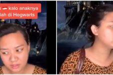 Viral video TikTok emak yang anaknya sekolah di Hogwarts, kocak