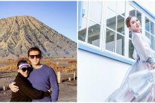 10 Momen liburan Syahrini & Reino di Bromo, sarapan ubi dan kacang