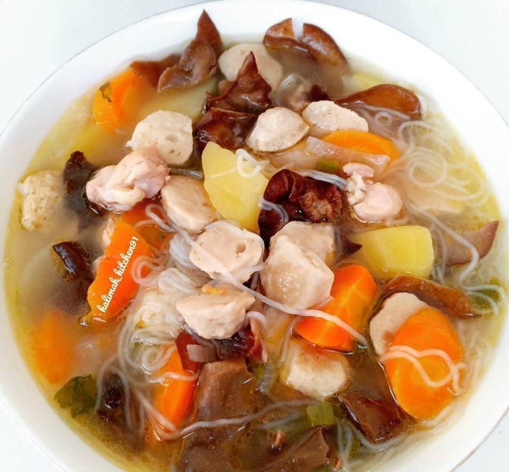 Resep makanan berkuah gurih © 2020 brilio.net