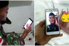 Momen haru pria lantunkan azan untuk sang bayi secara virtual
