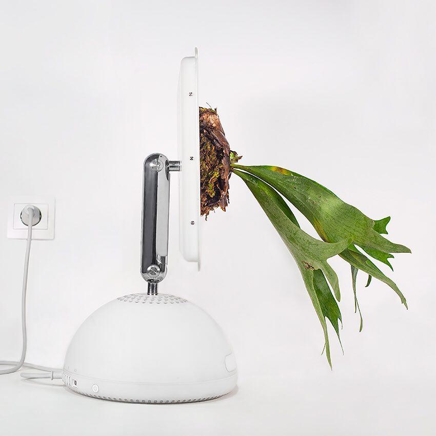 pot tanaman dari barang elektronik Berbagai Sumber