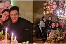 10 Potret kejutan ulang tahun Paula Verhoeven ke-33, romantis maksimal