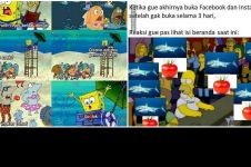 10 Meme lucu 'ikan hiu makan tomat' bikin inget odading Mang Oleh