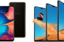 10 Rekomendasi HP Samsung layar Super AMOLED harga di bawah Rp 5 juta