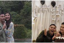 10 Momen perayaan ultah Duma Riris, ucapan Judika lucu tapi romantis