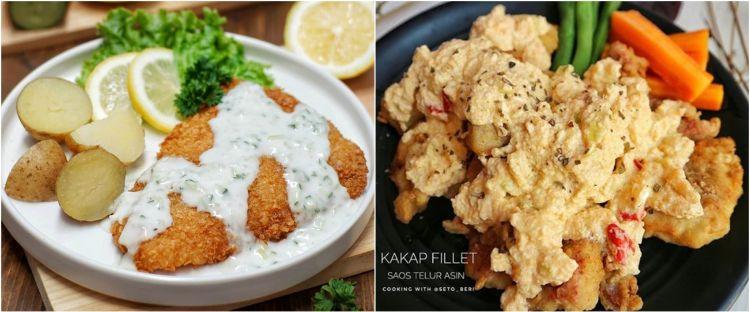 10 Resep olahan ikan fillet ala restoran, enak dan mudah dibuat