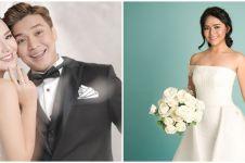 10 Potret Amanda Manopo pakai gaun pengantin, memesona abis