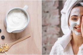 10 Cara membuat masker dari yogurt, bikin wajah sehat dan glowing