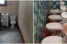 10 Penampakan toilet absurd, bikin mikir dua kali pas mau pakai
