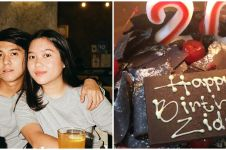 6 Momen Zidny Lathifa ulang tahun, ucapan Iqbaal Ramadhan romantis