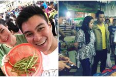 Momen manis 8 pasangan seleb belanja di pasar, antigengsi