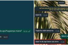 10 Chat lucu guru dan murid bahas tugas online, bikin tepuk jidat