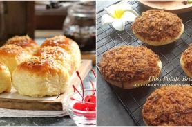 10 Resep roti kentang, enak, lembut, dan mudah dibuat