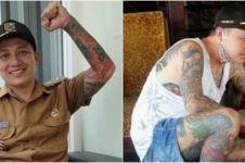 5 Fakta Hoho Alkaf, Kades yang viral karena bertato di sekujur tubuh