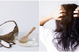 10 Manfaat minyak kelapa untuk rambut dan cara pakainya