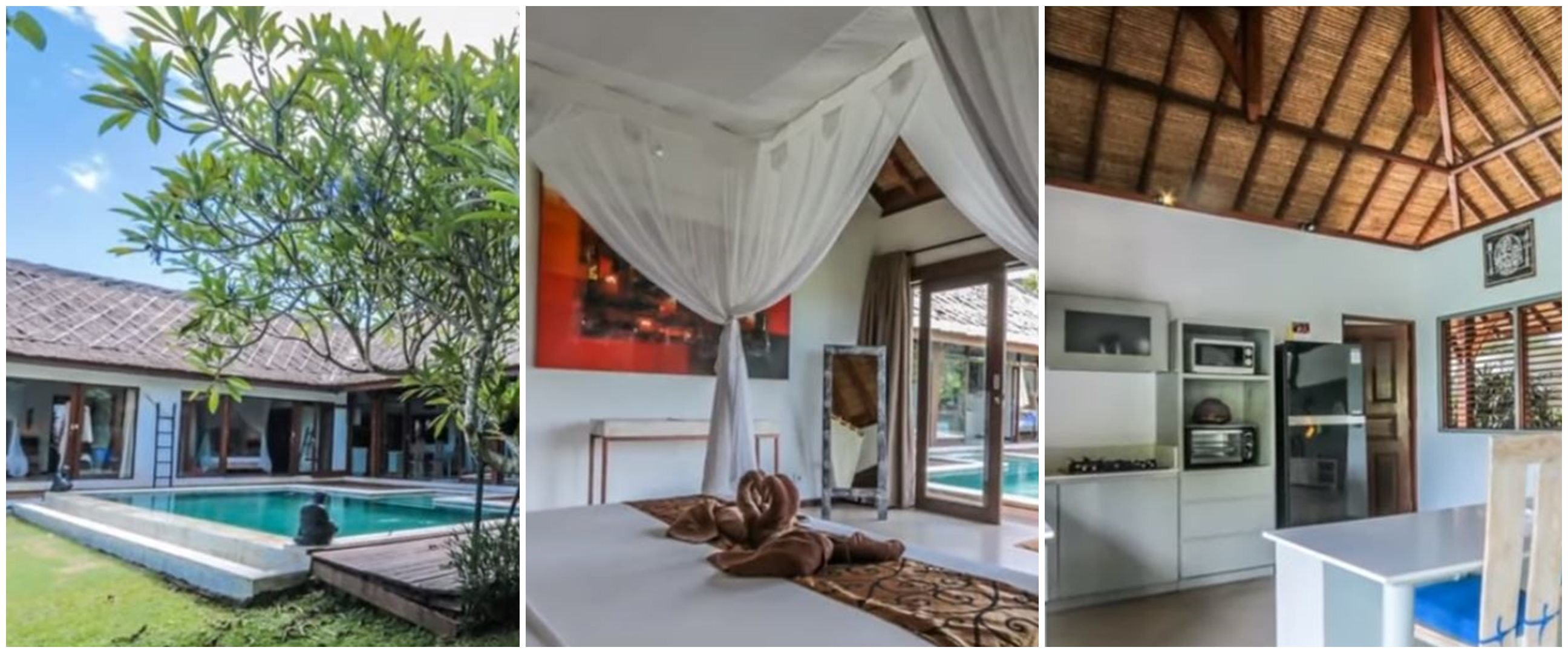 Potret rumah 11 seleb di Bali, asri dan nyaman