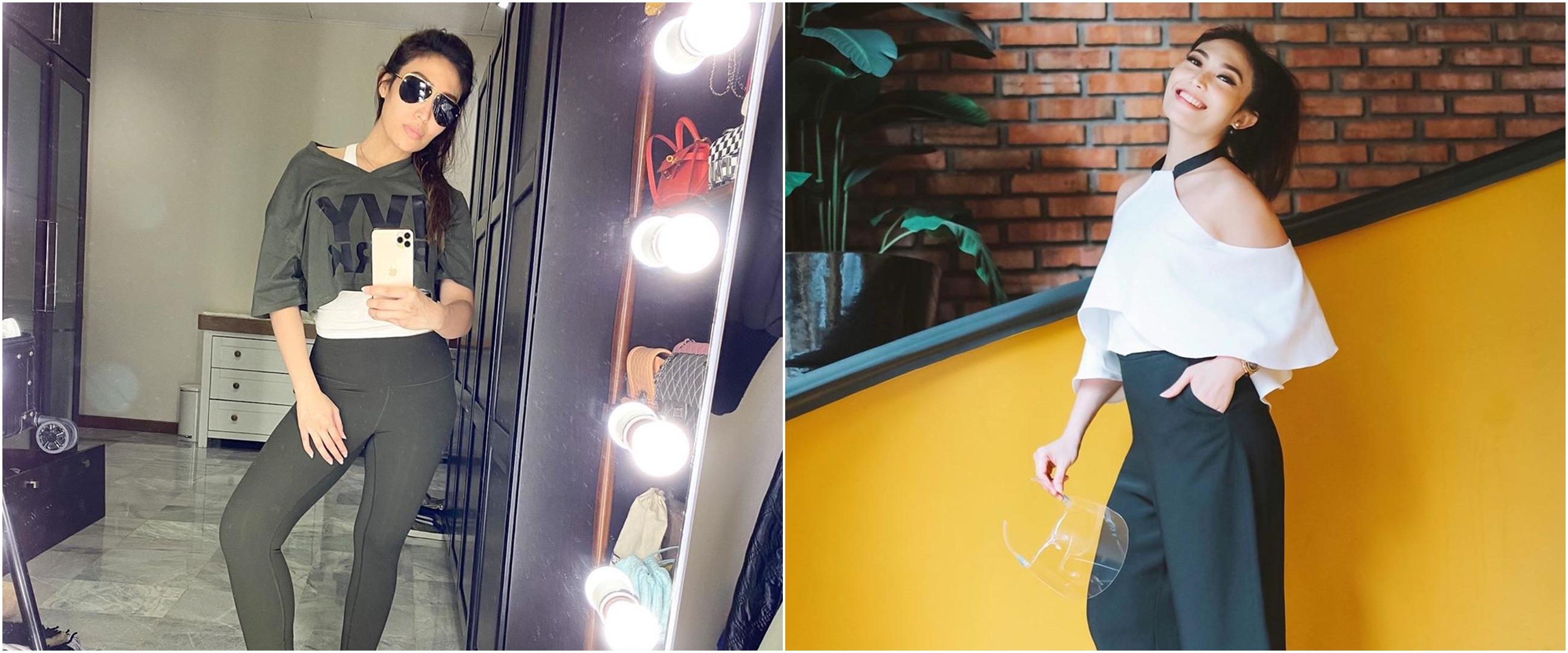 10 Penampilan Ayu Dewi saat main golf, gaya modisnya curi perhatian