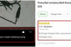 10 Review barang elektronik di online shop, bikin cekikikan