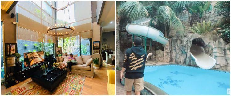 Potret rumah 12 presenter Tanah Air, ada yang punya waterboom pribadi