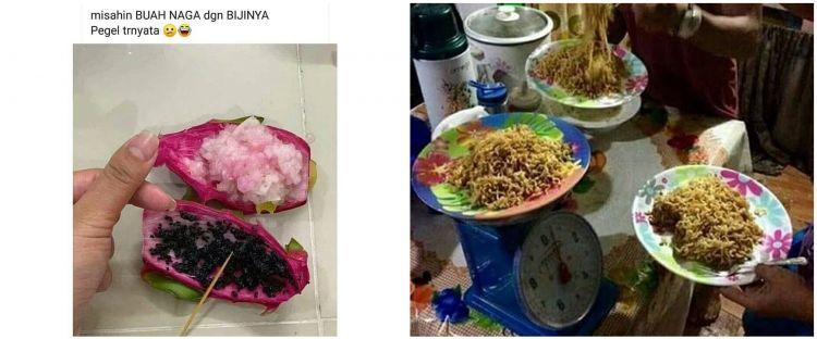 10 Potret netizen Indonesia saat mau makan, nyeleneh tapi kocak