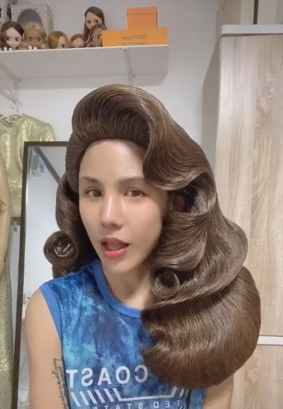 gaya wig antimainstream TikTok