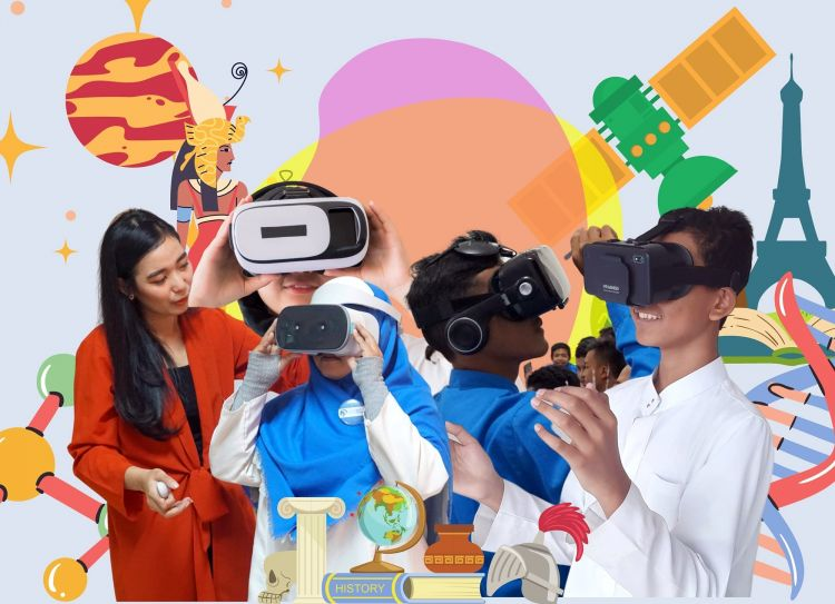 Belajar daring lebih menyenangkan dengan teknologi VR pendidikan ini