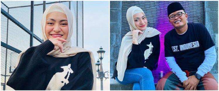 7 Potret Nathalie Holscher pakai hijab, pesonanya terpancar