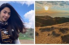 8 Potret Dinda Kirana saat mendaki gunung, gayanya curi perhatian