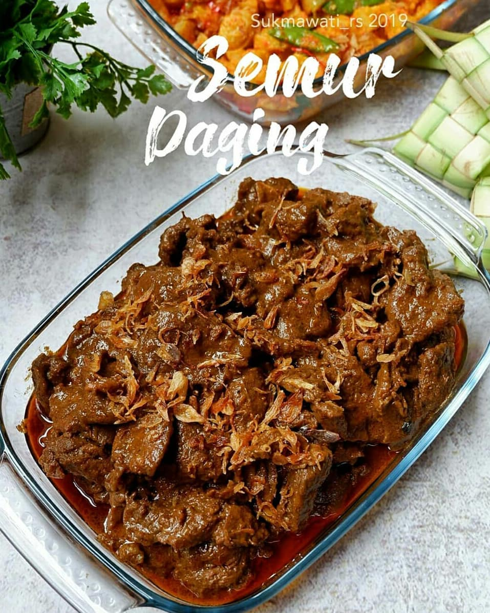 Resep makanan berbumbu hitam  © 2020 brilio.net