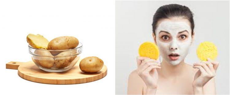 10 Cara membuat masker wajah dari kentang, bikin wajah glowing & halus