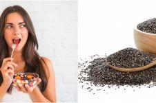 10 Manfaat chia seed untuk kesehatan, bikin berat badan turun