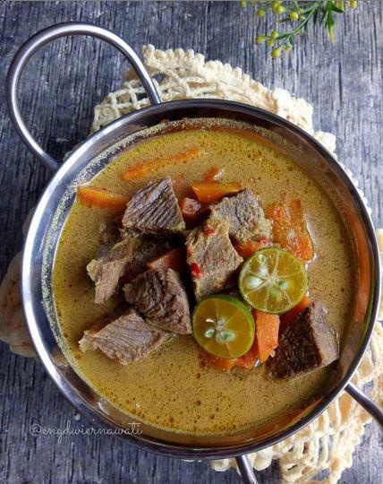 Resep daging sapi berkuah © 2020 brilio.net