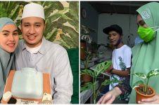 10 Momen Kartika Putri berburu tanaman Janda Bolong, harganya meroket
